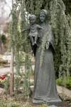 Statue Mutter mit Kind