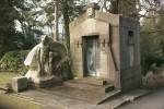 Mausoleum und Nibelungenszene