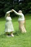 Alltagsmenschen: Tanzendes Paar