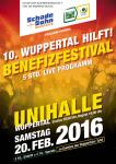 """Plakat von """"Wuppertal hilft"""" 2016"""