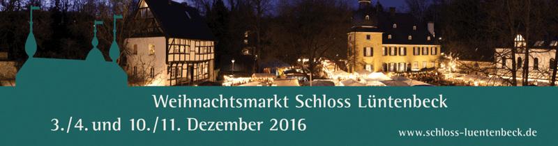 Weihnachtsmarkt Schloß Lüntenbeck