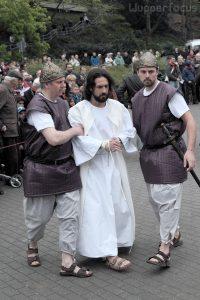 Abtransport von den Hohenpriester