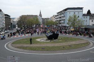 Prozession auf dem Hofkamp