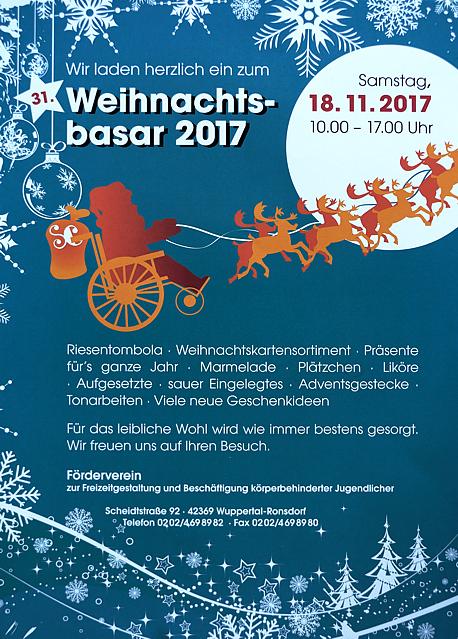 Förderverein-Weihnachtsbasar 2017