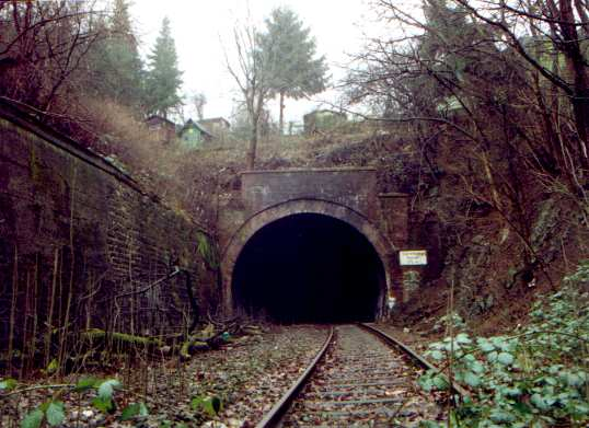 Dorrenberger Tunnel: East portal