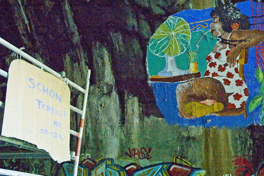 Tanztunnel: Fertig mit den Arbeiten im Tunnel
